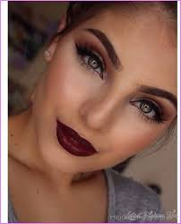 prom makeup ideas for a black dress