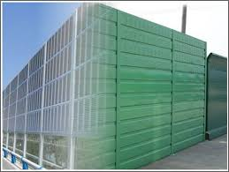 Perforated Panels For Construction And Highway Noise Control