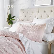 3 piece blush full queen comforter set