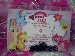 Tarjetas De Invitacion A Cumpleanos De My Little Pony Para Ver