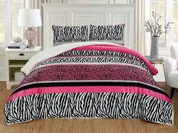 safari micro fur sherpa comforter set