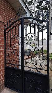 Creative Ornamental Fence Designs In Cast And Wrought Iron