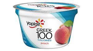 yoplait greek yogurt peach 5 3oz