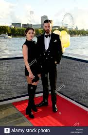 Sean Ward (right) and Abigail Wright attending the Raindance China ...