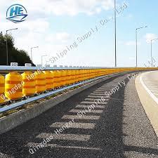 Highway Crash Cushion Barrier Safety Roller Fence For Fork Road Buy Safety Roller Fence Crash Cushion Barrier Safety Rolling Guardrail Product On Alibaba Com