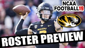 Missouri 2018 Roster Preview (Updated Rosters for NCAA Football 14) -  YouTube