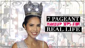 7 pageant makeup tips for real life