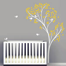 Large Spring Tree Birds Wall Decal Vinyl Wall Stickers Baby Nursery Be Ellaseal