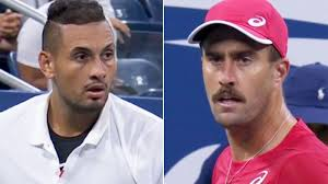 US Open: Nick Kyrgios and Steve Johnson in mid-match spat
