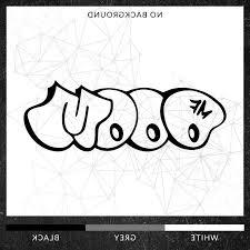 Mf Doom Logo Graffiti Hip Hop Rap Macbook Iphone