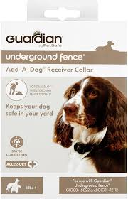 Amazon Com Guardian By Petsafe In Ground Fence Receiver Collar Works With Guardian Underground Fence Petsafe Pet Supplies