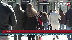 Calabria Corona Virus: Nessun caso accertato ma tanta paura ...