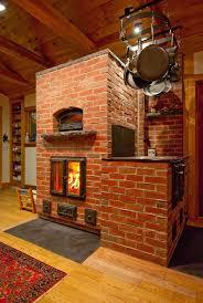 masonry heater bake oven cookstove