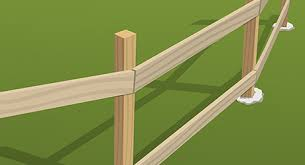 How To Install Split Rail Fence The Home Depot