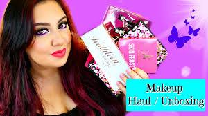 makeup beauty haul unboxing