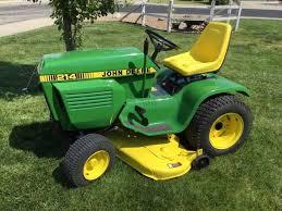 1982 john deere 214 garden tractor
