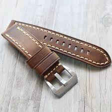 22mm 23mm 24mm 26mm dark brown leather