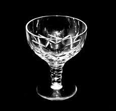 4 stuart cut crystal liqueur aperitif