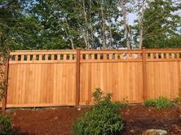 Fence Design Plans Free Fence Cedar Alta Top Fence Designs Greater Puget Sound Free Fence Landscaping Fence Design Backyard Fences