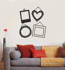 Vinyl Wall Decal Photo Frames For Family Decor Living Room Stickers Mu Wallstickers4you