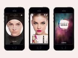 china with makeup genius app