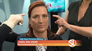 sally hayes permanent makeup shows how