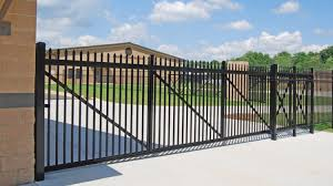 Aluminum Cantilever Gates For Residential Commercial Industrial Applications