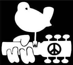 Peace Guitar Woodstock Hippie Car Vinyl Decal Laptop Sticker Graphic 5 X4 4 Ebay