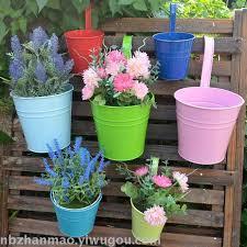 vase flower ware garden iron hollow