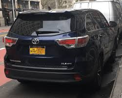 Nypd Permit In Front Window Photo License Plate Frame