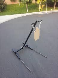 homemade ar500 target stand calguns net