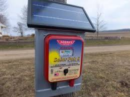 Solar Charger For Electric Fence Fence Charger Electric Fence Energizer Solar Electric Fence