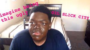 ugly black guy makeup fail