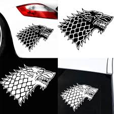 Body Window House Stark Sticker Game Of Decoration Car Vehicle Buy At A Low Prices On Joom E Commerce Platform