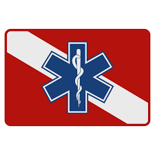 Dive Flag Star Of Life Decal