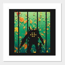 Shop Bioshock Posters And Art Prints Teepublic