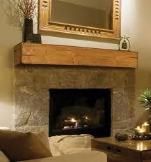 lexington wooden fireplace mantel shelf