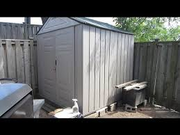rubbermaid storage shed you