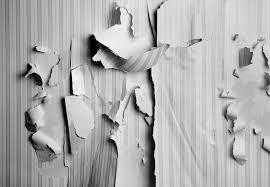 replace or repair damaged wallpaper