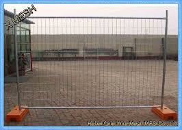 Anti Climb Temporary Construction Fence Panels 2 1x2 4m 60x150mm Mesh Openning