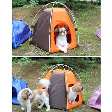 Portable Pet Dog Tent Outdoor Travel Kennel Cat Folding Tent Dog Camping Fence Rainproof Sunscreen Pet House Travel Carrier G5 Houses Kennels Pens Aliexpress