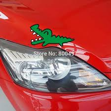 Lovely Car Styling Badbadtz Maru Crocodile Cartoon Car Stickers Car Decal For Ford Chevrolet Volkswagen Honda Hyundai Kia Lada Decal Kit Car Decals Bumper Stickersdecals Bicycle Aliexpress