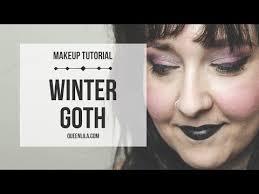 winter goth makeup tutorial queen lila