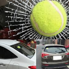1 Ps Car 3d Simulatio Tennis Ball Decal Broken Window Sticker Body Universal Fit Archives Midweek Com