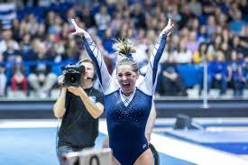 Utah State Gymnastics Records Season-High Road Score of 195.725 at BYU Quad  Meet - Utah State University Athletics