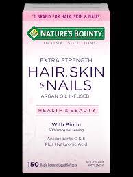 extra strength hair skin nails 5