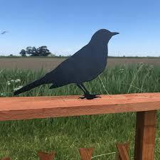 Blackbird Fence Post Topper