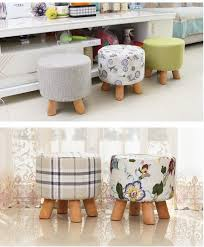 fabric sofa coffee table stool