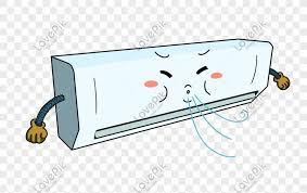 cartoon air conditioning png