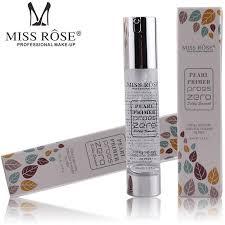 miss rose pearl primer pores zero silky